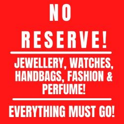 No Reserve! Jewellery, Watches, Perfume, Gold Jewellery, Diamond Jewellery, Designer Watches, Seiko, Hugo Boss, G Shock & Many More Products!