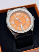 BOXED GENTS HUGO BOSS WATCH, MODEL- HB1921142548, APPEARS NEW, NEEDS BATTERY, RRP-£199.00Condition