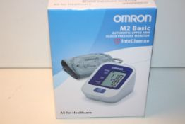 BOXED OMRON M2 BASIC INTELLISENSE AUTOMATIC UPPER ARM BLOOD PRESSURE MONITOR Condition