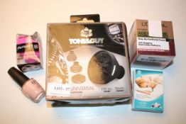 5X ASSORTED ITEMS TO INCLUDE L'OREAL, TONI&GUY, OPI & OTHER (IMAGE DEPICTS STOCK)Condition
