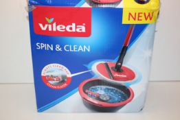 BOXED VILEDA SPIN & CLEAN RRP £29.99Condition ReportAppraisal Available on Request- All Items are