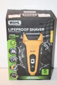 BOXED WAHL LIFEPROOF WET/DRY SHAVER PRACTICALLY INDESTRUCTABLE RRP £75.00Condition ReportAppraisal