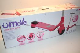 BOXED UMOVE LITHIUM ELECTRIC SCOOTER RRP £45.00Condition ReportAppraisal Available on Request- All