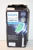 BOXED PHILIPS SONICARE 2100 DAILY CLEAN TOOTHBRUSH RRP £34.99Condition ReportAppraisal Available