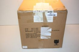 BOXED AMAZON BASICS DINNERWARE SET Condition ReportAppraisal Available on Request- All Items are