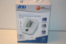 BOXED A&D MEDICAL UA-611 BLOOD PRESSURE MONITOR RRP £24.99Condition ReportAppraisal Available on