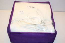 BAGGED SLUMBERDOWN ELECTRIC HEATED UNDERBLANKET RRP £49.99Condition ReportAppraisal Available on