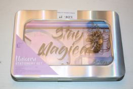 2X BOXED STAY MAGICAL UNICORN STATIONARY SETS Condition ReportAppraisal Available on Request- All