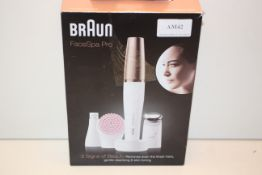 BOXED BRAUN FACESPA PRO RRP £99.00Condition ReportAppraisal Available on Request- All Items are