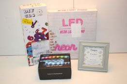 4X ASSORTED BOXED ITEMS (IMAGE DEPICTS STOCK)Condition ReportAppraisal Available on Request- All