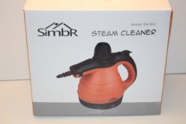 BOXED SIMBR STEAM CLEANER MODEL: EM-302 RRP £27.89Condition ReportAppraisal Available on Request-