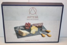 BOXED ARTESA SERVE DINE ENTERTAIN CHEESE PLATTER SET RRP £34.99Condition ReportAppraisal Available
