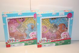 2X BOXED LALALOOPSEY POP-UP GAMESCondition ReportAppraisal Available on Request- All Items are