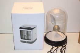 2X BOXED ITEMS TO INCLUDE HARRY POTTER BELL JAR LIGHT & MINI AIR COOLER HUMIDIFIERCondition