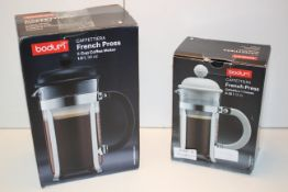 2X BOXED BODUM TRAVEL PRESS COMBINED RRP £55.00Condition ReportAppraisal Available on Request- All