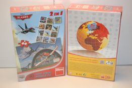 2X BOXED SEALED DISNEY PLANES DINO MINI MEMO PUZZLE 66 Condition ReportAppraisal Available on