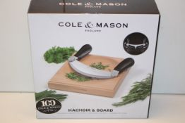 BOXED COLE & MASON HACHOIR & BOARD RRP £28.99Condition ReportAppraisal Available on Request- All