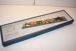BOXED ARTESA SERVE DINE ENTERTAIN SERVING PLATTER Condition ReportAppraisal Available on Request-