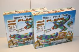 2X BOXED MAKE YOUR OWN PLANES SETS Condition ReportAppraisal Available on Request- All Items are