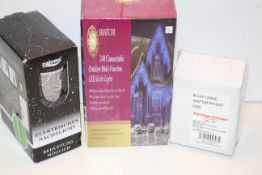 3X BOXED ASSORTED ITEMS (IMAGE DEPICTS STOCK)Condition ReportAppraisal Available on Request- All