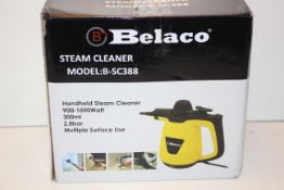 BOXED BELACO HANDHELD STEAM CLEANER MODEL: B-SC388 RRP £32.89Condition ReportAppraisal Available