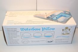 BOXED WATERBASE PILLOW BY THE DUCK & GOOSE COMPANY Condition ReportAppraisal Available on Request-