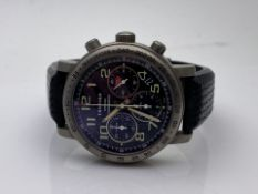 GENTS CHOPARD TITAN MONTRE MILLE MIGLIA CHRONOMETRE, DATE- 2002, FULLY WORKING ORDER, INCLUDES