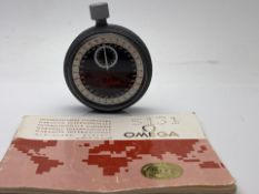 OMEGA RARE LIMITED PRODUCTION STOPWATCH, INCLUDES ORIGINAL BOOKLET (350)