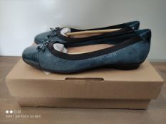 BOXED CLARKS DOLLY SHOES SIZE 6 RRP £40 (IMAGE DEPICTS STOCK)Condition ReportAppraisal Available