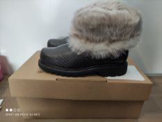 BOXED CAT FUR BOOTS SIZE 5 RRP £40 (IMAGE DEPICTS STOCK)Condition ReportAppraisal Available on