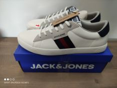 BOXED JACK & JONES TRAINERS SIZE 12 RRP £40 (IMAGE DEPICTS STOCK)Condition ReportAppraisal Available