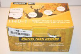 BOXED DIGITAL WILDLIFE CAMERA WITH 16 MEGAPIXEL CMOS SENSOR MODEL: H40-1 RRP £79.99Condition