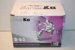 BOXED ARES KO KIDS PROTECTIVE GEAR SET MCondition ReportAppraisal Available on Request- All Items