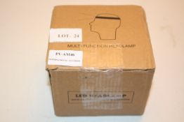 BOXED LED MULTI FUNCTION HEADLAMP Condition ReportAppraisal Available on Request- All Items are