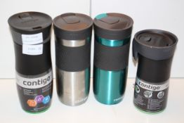 4X ASSORTED CONTIGO DRINKS CUPS WITH LIDS COMBINED RRP £51.00Condition ReportAppraisal Available