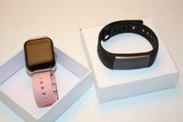 2X BOXED ASSORTED ITEMS TO INCLUDE SMART WATCH & ACTIVITY TRACKER Condition ReportAppraisal