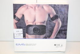 BOXED EMS INTELLIGENT PULSE ABDOMEN DEVICE RRP £29.99Condition ReportAppraisal Available on Request-