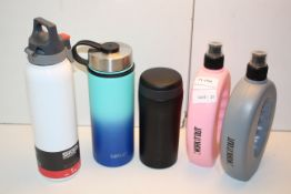 5X ASSORTED DRINKS CONTAINERS BY SIGG & OTHER Condition ReportAppraisal Available on Request- All