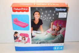BOXED BESTWAY FISHER PRICE INFLATEABLE BED RRP £30.00Condition ReportAppraisal Available on Request-