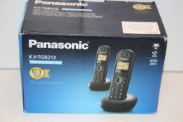 BOXED PANASONIC KX-TGB212 TWIN/DUO DIGITAL CORDLESS HOME PHONE SET RRP £49.99Condition