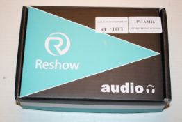 BOXED RESHAW AUDIO CASSETTE USB CAPTURE Condition ReportAppraisal Available on Request- All Items