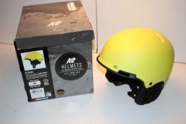 BOXED K2 HELMETS SEA-PNW-USA STASH YELLOW / JAUNE VIRALE SIZE MEDIUM 55-59CM RRP £50.99Condition