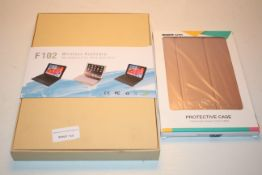 2X BOXED ASSORTED ITEMS TO INCLUDE F102 WIRELESS KEYBOARD & OTHER (IMAGE DEPICTS STOCK)Condition