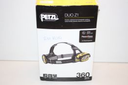 BOXED PETZL DUO Z1 POWERFUL RECHARGEABLE HEADLAMP ATEX ZONE 1/21 360 LUMENS RRP £390.60Condition