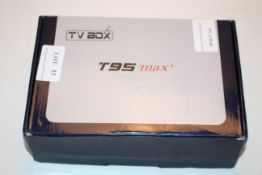 BOXED ANDROID TV BOX T95 MAX+Condition ReportAppraisal Available on Request- All Items are