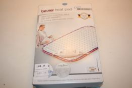 BOXED BEURER LIVING HEAT PAD COSY HK UK EDITION RRP £39.99Condition ReportAppraisal Available on