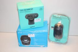 3X ASSORTED BOXED LOGITECH ITEMS (IMAGE DEPICTS STOCK)Condition ReportAppraisal Available on