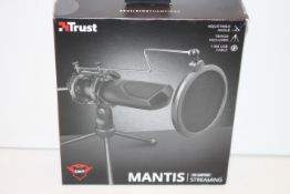 BOXED TRUST MANTIS PC LAPTOP STREAMING RRP £18.99Condition ReportAppraisal Available on Request- All
