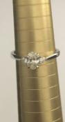 Type: Ring Precious Metal: 18 carat White Gold Precious Stones: Description: 18 carat White Gold 0.