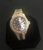Rolex Ladies Yellow Gold Datejust